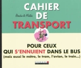 Cahier de transport