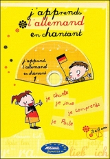 j'apprends l'allemand en chantant Livre + CD
