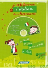 J'apprends l'italien en chantant livre/cd