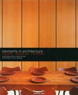 elements in architecture : raume espaces ruimten