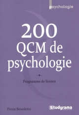200 QCM de psychologie