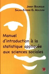 Manuel d'introduction à la statistique appliquée aux science