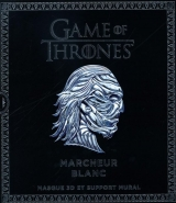 Game of Thrones : Marcheur Blanc : Masque 3D et support mural