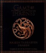 Game of Thrones : Maison Targaryen dragon : Masque 3D et support mural