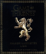 Game of Thrones : Maison Lannister Lion : Masque 3D et support mural