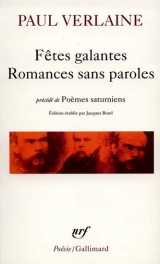 Fêtes galantes romances sans paroles
