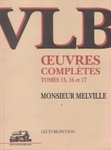 9782921898270 Monsieur Melville : Oeuvres complètes