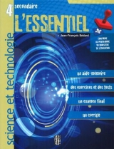 4e secondaire science et technologie