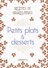 Petits plats et desserts